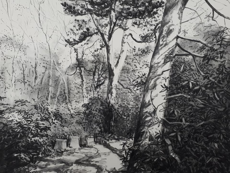 houtskool Jo Dumon Tak